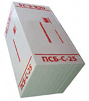 Пенопласт ПСБ- С- 25 (1*0,5) 50мм