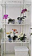 Стеллаж-2, подставка для цветов на 4 полки, фото 1
