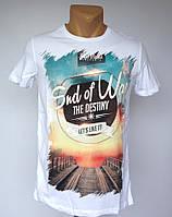 Белая футболка End of Way - №1503