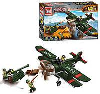 Конструктор Brick Enlighten Военная техника, Combat zone, Самолет, 187 дет., 1705, 007671, фото 1