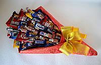 Букет из шоколадок и конфет