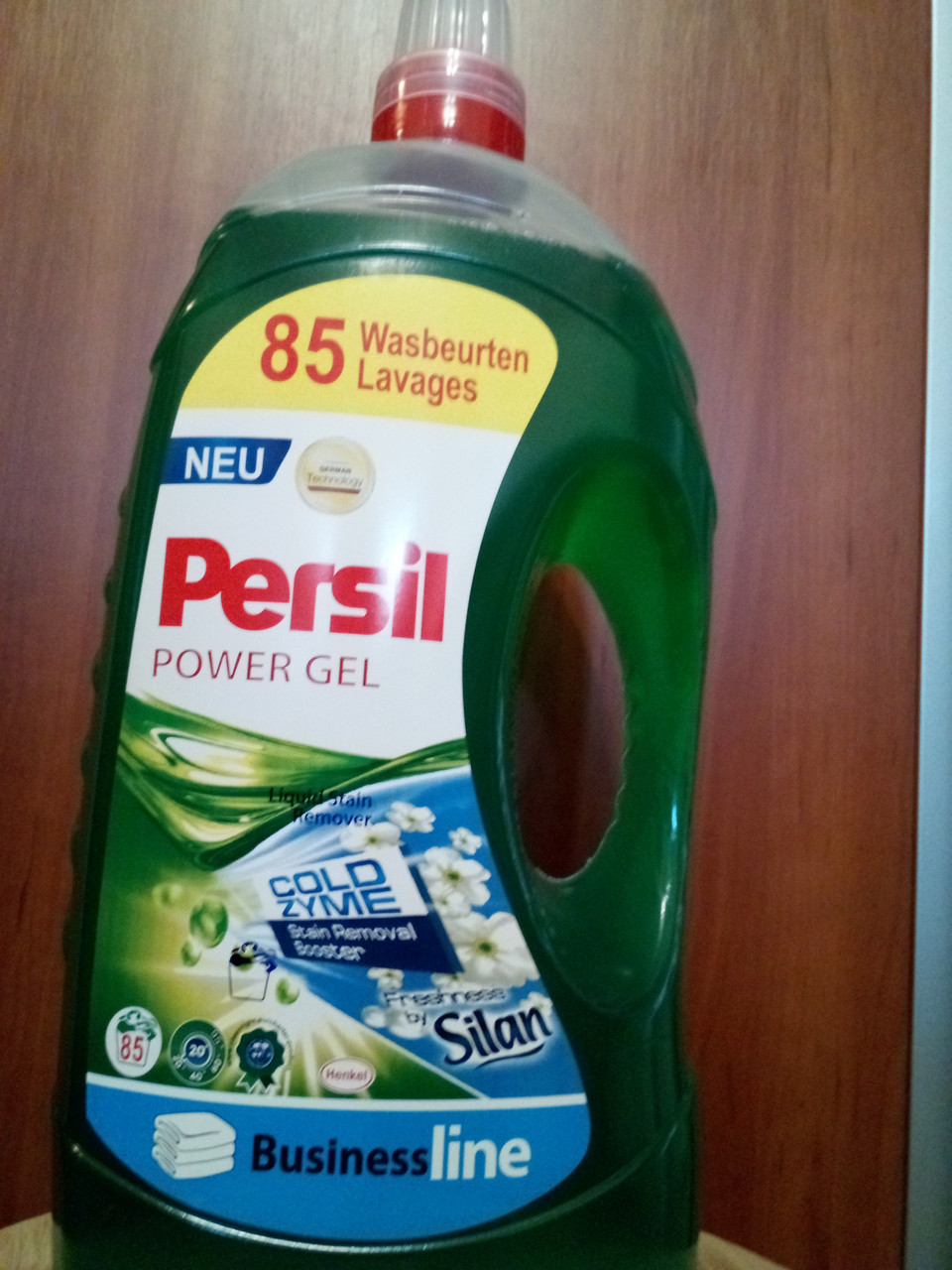 Гель для прання PERSIL 5,65 л COLD ZYME 85 прання універсальний