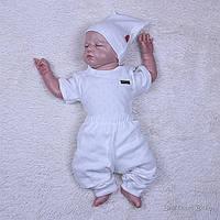 Набор для новорожденного 3 предмета Нежность, айвори, фото 1