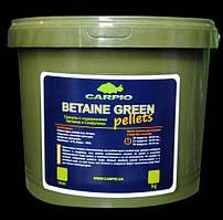Пелети Carpio Betaine Green, 6мм, 3кг