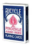 Покерные карты Bicycle Pinochle Jumbo Index, фото 1