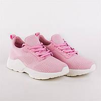 Кроссовки женские розовые модные Lonza