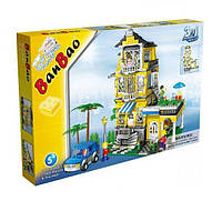 Конструктор BanBao 8368 Большой семейный дом 3в1