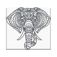 Картина по номерам AR10 Слонёнок (20 х 20 см) ArtStory