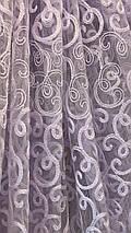 Тюль фатин белая VST-111306, фото 3