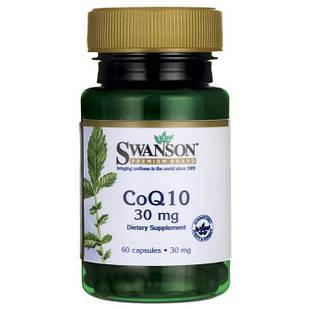 CoQ-10 Swanson 30 мг 60 капс