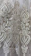 Тюль фатин кремовая VST-12055, фото 3