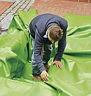 Пленка для пруда ПВХ зеленая, Agrilac Италия 1 мм ширина 4 м, фото 2
