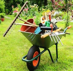 Хранение садового инвентаря
