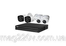 Комплект видеонаблюдения Dahua KIT-CV4HD-2B/2D на 4 камеры 1 МП