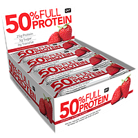 QNT Full Protein Bar 50% 50 g (Exotic Strawberry)
