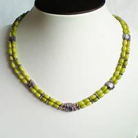 Бусы браслет серьги зеленый коралл рис 0002 ( набор для женщин )