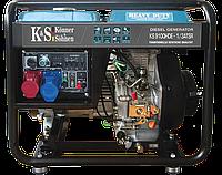Генератор дизельный Konner & Sohnen KS 9100HDE-1/3 ATSR