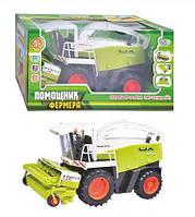 Комбайн - Помощник фермера (машинки, автомодели, игрушки для мальчиков)