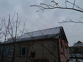 """Высшетарасовка Солнечная электростанция сетевая для """"зеленого"""" тарифа 8 кВт Днепропетровская обл"""
