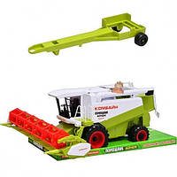 Комбайн инерционный (машинки, автомодели, игрушки для мальчиков)