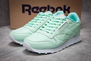 Кроссовки женские Reebok Classic, зеленые (12822),  [  40 41  ]
