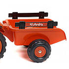 Трактор педальный с прицепом Kubota Falk 2065AB, фото 2