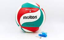 Мяч волейбольный MOLTEN 5000 PU Реплика
