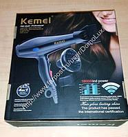 Горячий фен для волос профессионала салона Kemei Km 3319 сбывания 1200W, фото 1