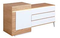 Комод деревянный Ceglewski 1 дверь 3 ящика