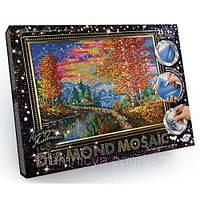 Набор для творчества Алмазная живопись Осень (DM-01-03) «DIAMOND MOSAIC»