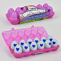 12 яиц Hatchimals в лотке