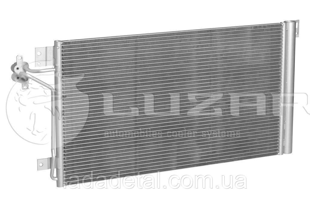 Радиатор кондиционера Фольцваген Транспартер Transporter T5 1.9/2.0/2.5/3.2 (03-) АКПП/МКПП (LRAC 18H7) Luzar