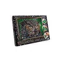 Набор для творчества Алмазная живопись Сова (DM-02-01 мал.) «DIAMOND MOSAIC»