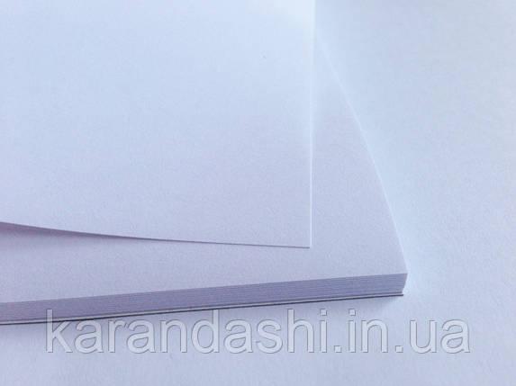 Альбом-склейка SMILTAINIS для эскизов Экстра-белая А4 90/м2 25 лист ES-25, фото 2