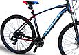 """Горный велосипед WINNER DRIVE 27,5"""" 17"""", 19""""Черный / Синий, фото 3"""