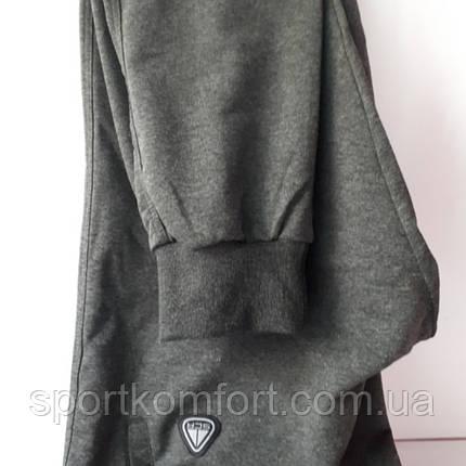 Спортивные штаны на манжете, SOCCER , серые., фото 2
