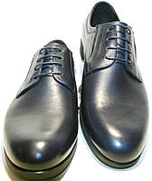 Туфли мужские классические синие IKOC, фото 1