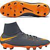 Футбольные мужские бутсы Nike Hypervenom Phantom III DF FG