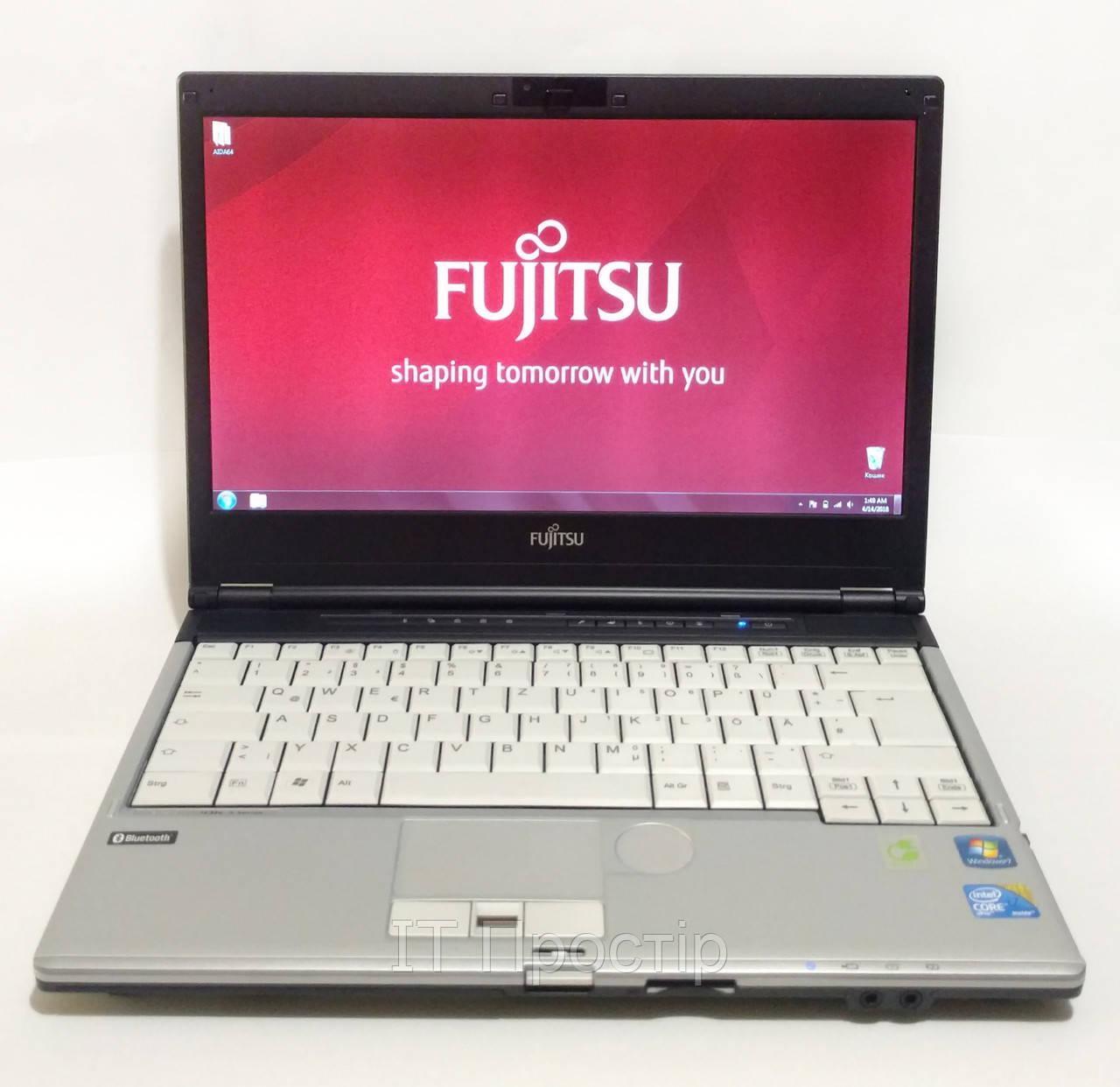 """Ноутбук FUJITSU S760/13.3""""/i7 to 3.33Ghz/RAM 4Gb DDR3/HDD 320GB УЦІНКА"""