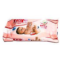 Салфетки влажные для детей LiLi с экстрактом ромашки (40 шт.)