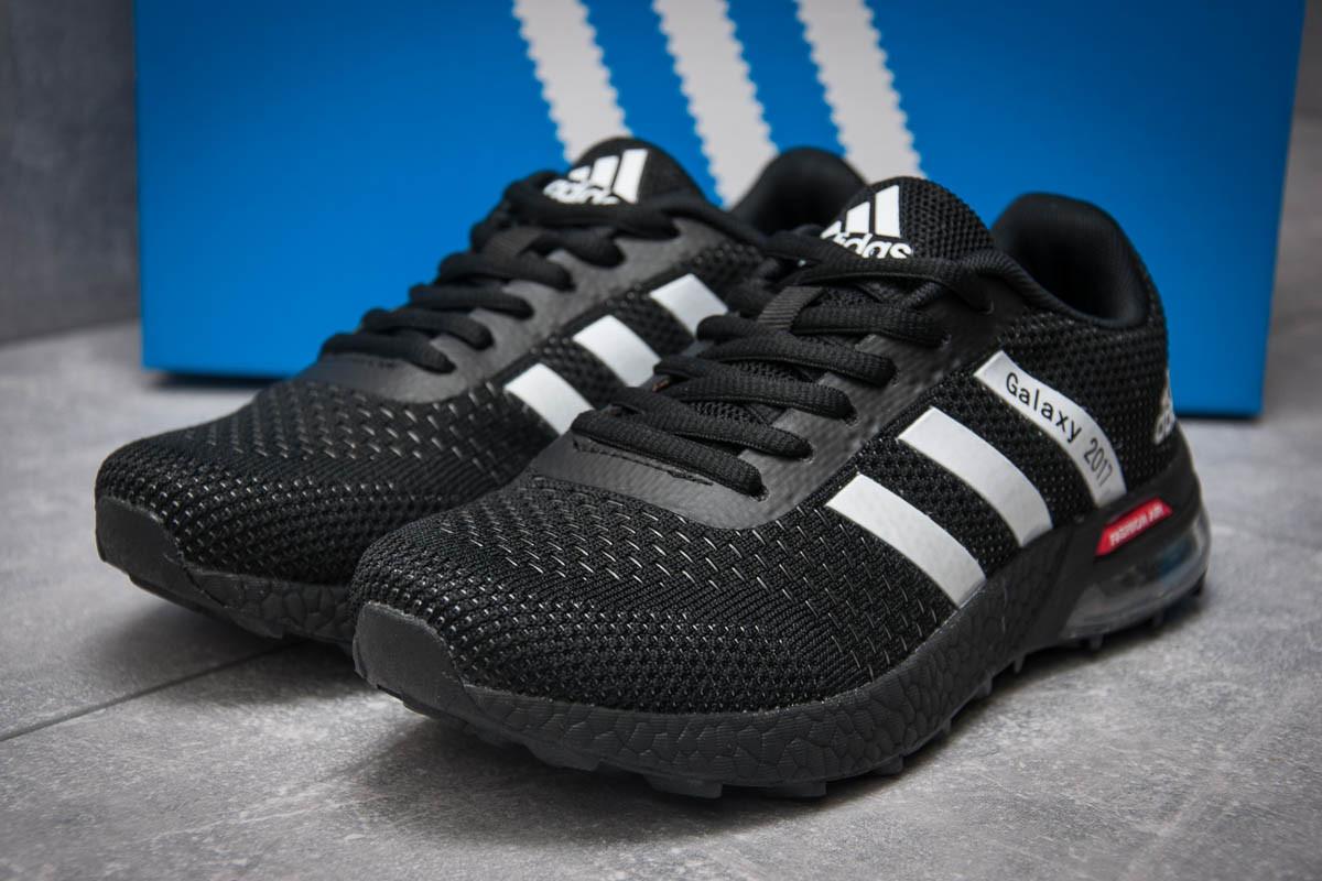 Кроссовки женские Adidas Galaxy 2017, черные (12801) размеры в наличии ► [  36 37 38 39 40 41  ](реплика)