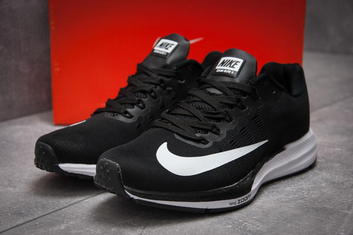 Кроссовки мужские Nike Zoom Elite 9, черные (12891) размеры в наличии ► [  41 (последняя пара)  ] (реплика)