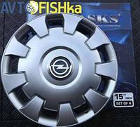 Ковпаки на колеса авто SKS / SJS R15 Opel