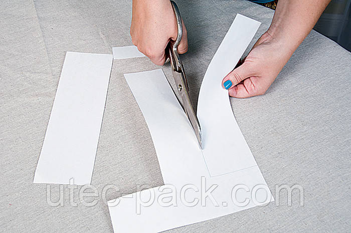 Картон для лекал, размотка больших рулонов на рулоны небольшого веса