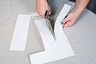 Картон для лекал, размотка больших рулонов на рулоны небольшого веса, фото 1