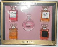 Парфюмерный набор Chanel. 5 ароматов