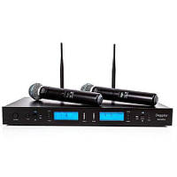 Радиосистема SHURE WM-502R база + 2 радиомикрофона