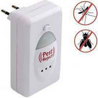 Электромагнитный отпугиватель насекомых и грызунов Pest Reject (green)