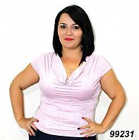 Летняя женская кофта-хомут 50,52,54,56,58,60,62,64, фото 1