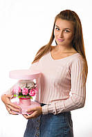 Цветы из мыла набор Розовая иллюзия Композиция Soap Flowers Pink Illusion